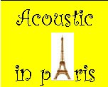 Acoustic Music in Paris
