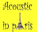 Acoustic events in pAris