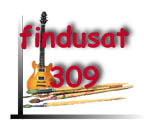 findusat309 logo; links to Index